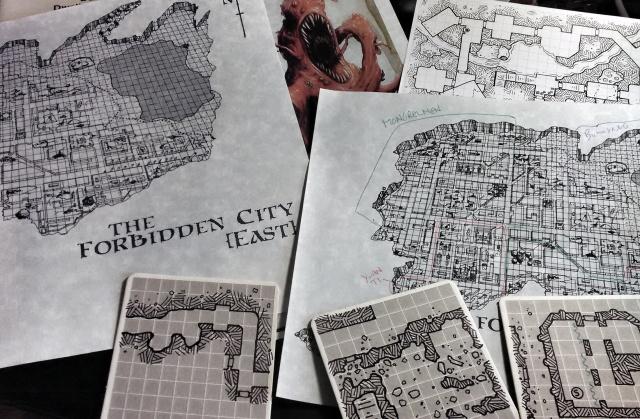 Forbidden City Game Prep
