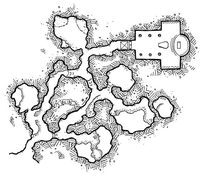 The hidden tomb