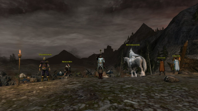 All caught up in LOTRO