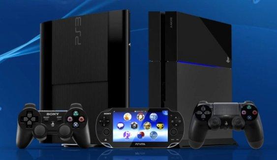 PS3, PS4, and PS Vita