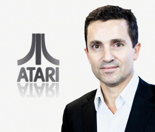 Atari logo with Chesnais