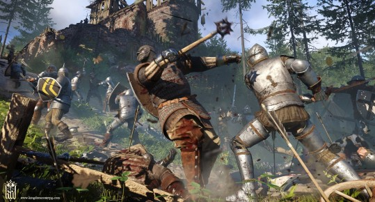 Kingdom come deliverance in-game gameplay combat