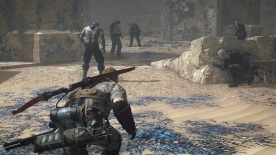 stealth gameplay in Metal Gear Survive