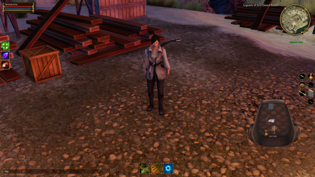 My character in Legends of Aria