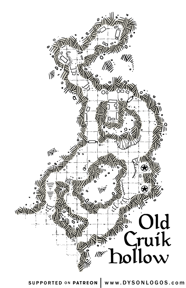 Old Cruik Hollow (no walls)