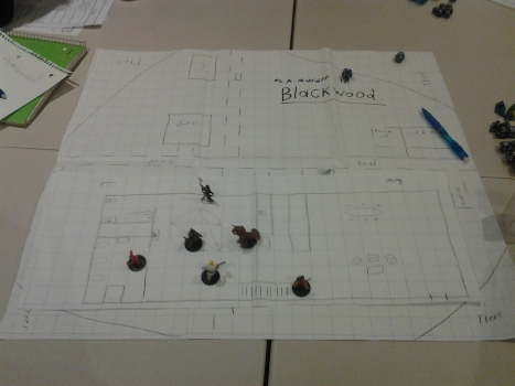 One of the maps for TSW homebrew campaign for Dungeons and Dragons