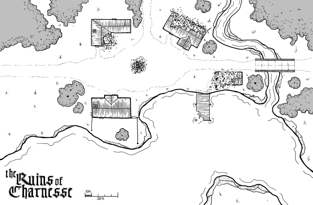 the Ruins of Charnesse