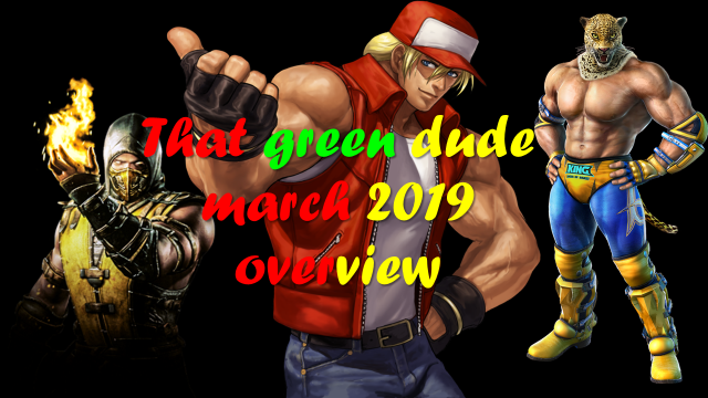 That Green Dude April 2019 Overview