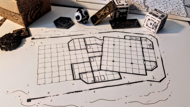 Reliquary Map WIP