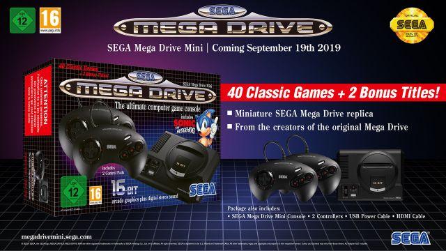 2-Sega Mega Drive Mini