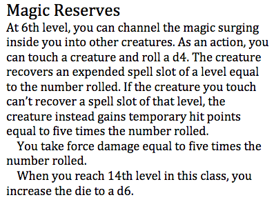 Magic Reserves