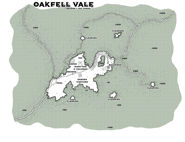 Oakfell Vale Player Map