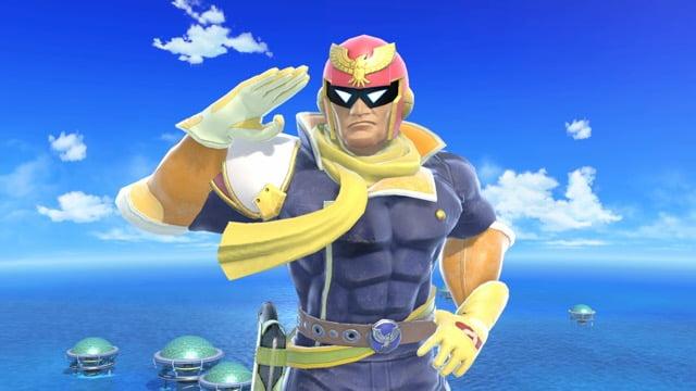 f-zero captain falcon