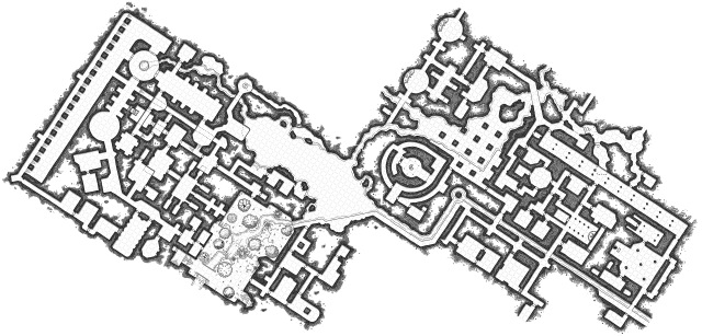 Low-Resolution Absent City Maps