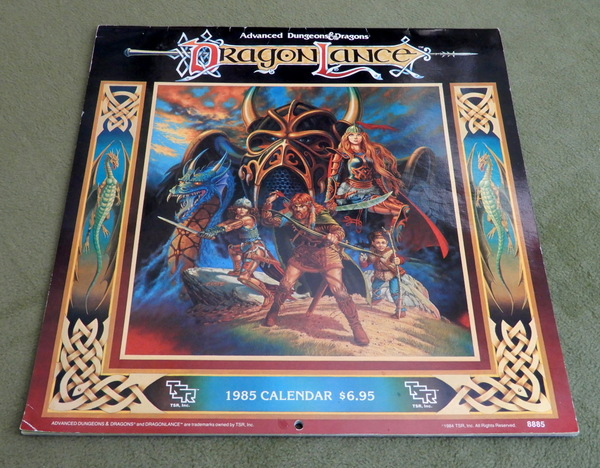 1985 Dragonlance calendar cover-001