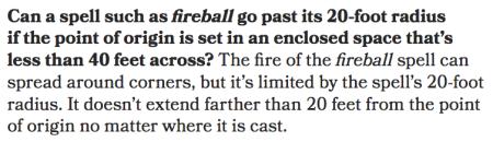 Fireball Sage Advice
