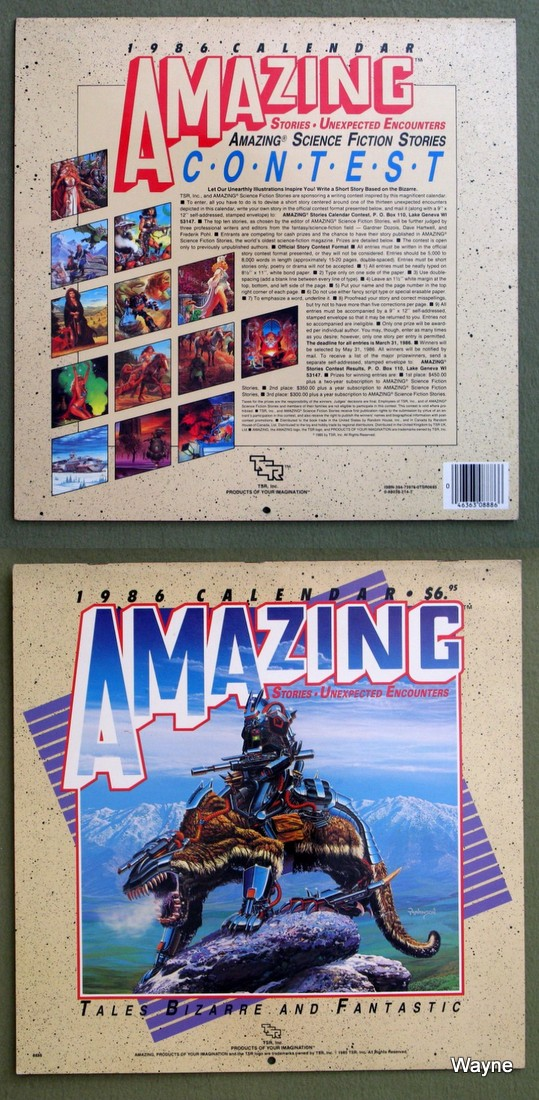 1986 amazing stories - unexpected encounters coll