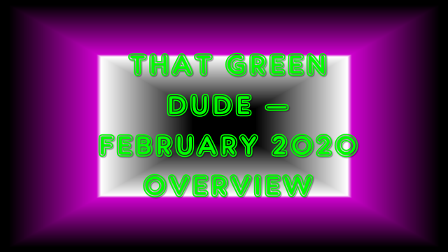 TGD Feb 2020 Overview