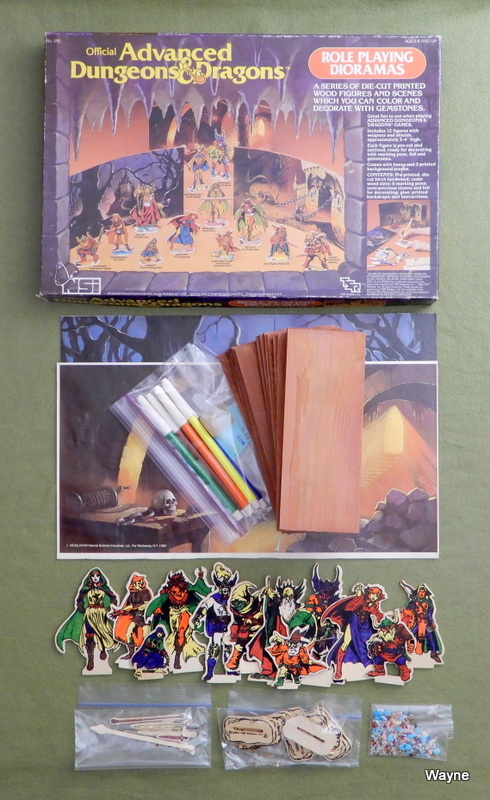 AD&D Role Playing Dioramas box set