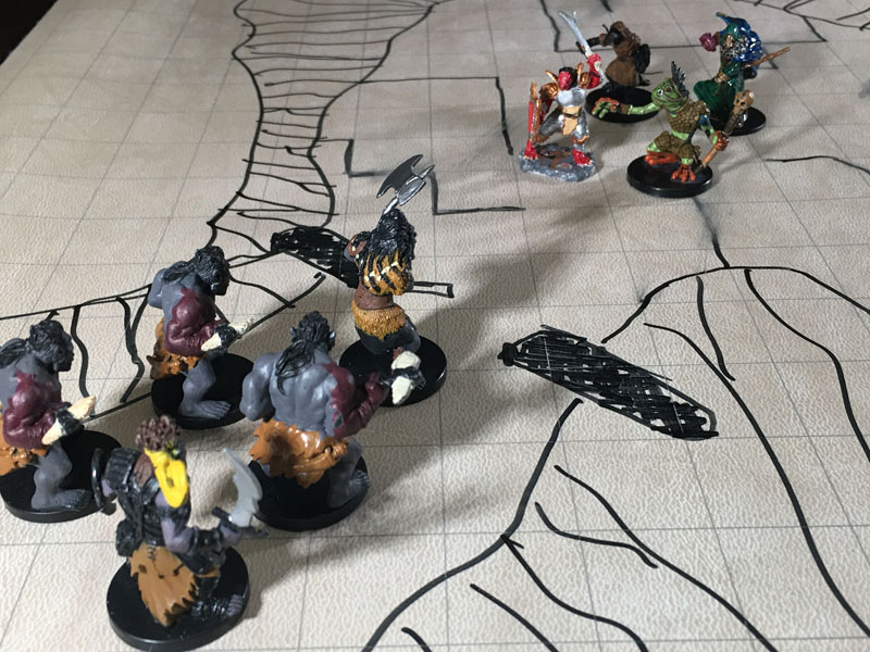 Icespire S2 Orcs Attack