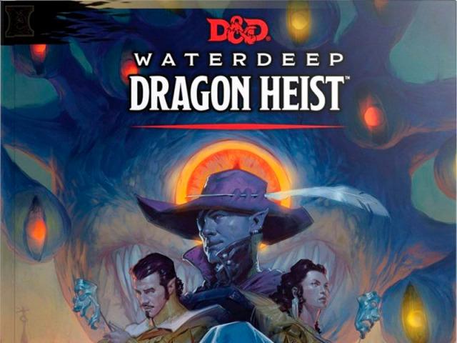 Waterdeep Dragon Heist cover title