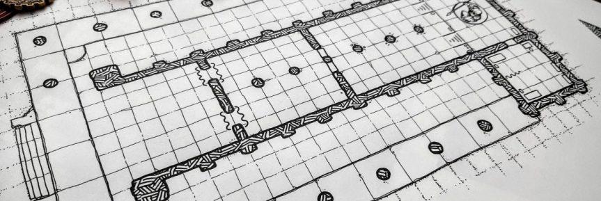 Gladiators Temple DnD Map