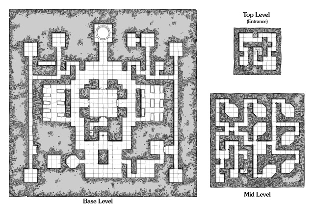 Stepped Pyramid - 3 levels