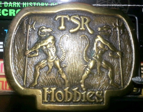 TSR Lizard belt buckle