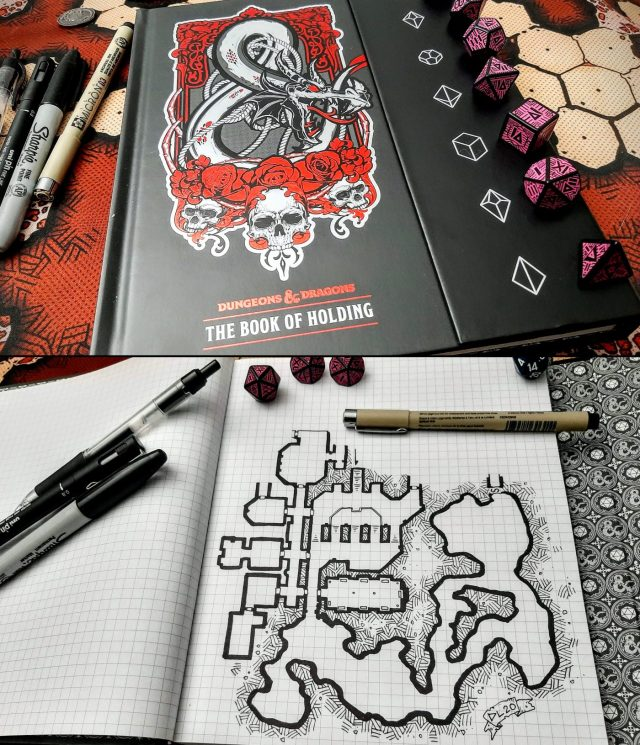 Dungeon of Holding in the Book of Holding