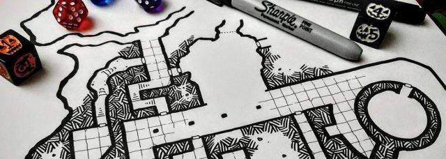 Sharpie Dungeon WIP