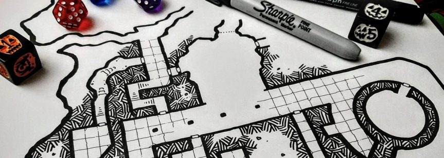 Sharpie Dungeon WIP