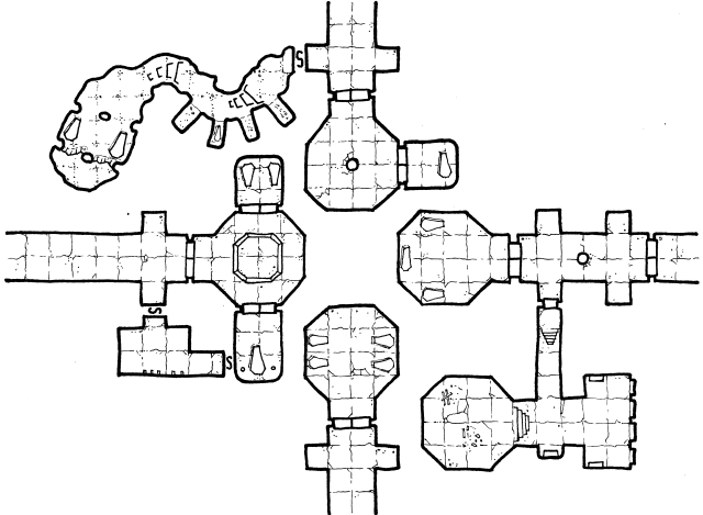 Crypts of the Lich Lord - Geomorph 1