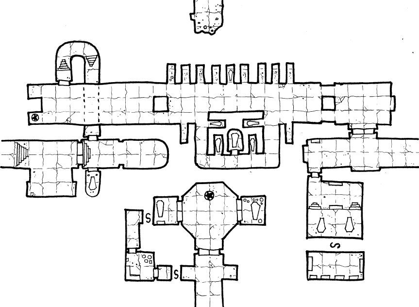 Crypts of the Lich Lord - Geomorph 2