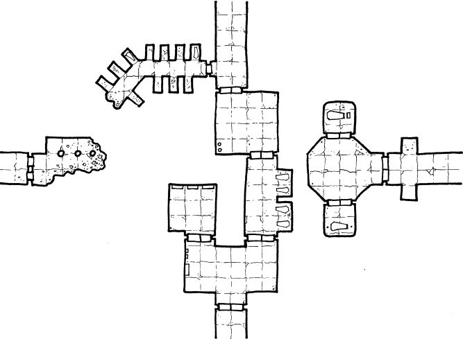 Crypts of the Lich Lord – Geomorph 7