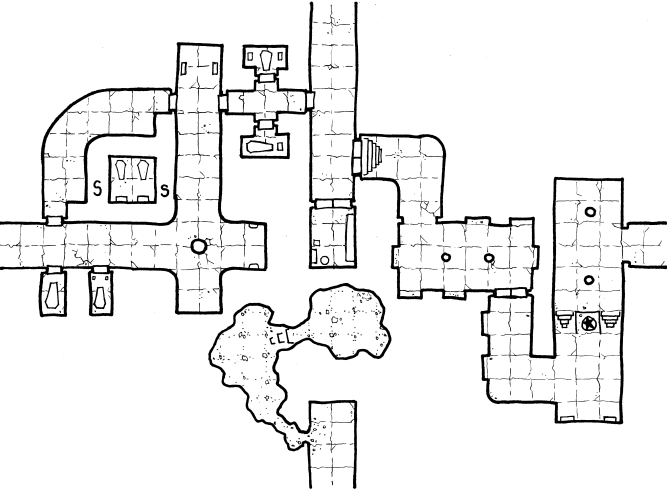 Crypts of the Lich Lord – Geomorph 8