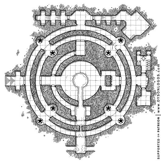 The Circles of Keténgku's Contemplations (1200dpi)