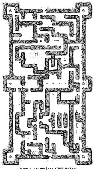The Iron Fortress of Varvara Kazakova the Mad (1200dpi no grid)