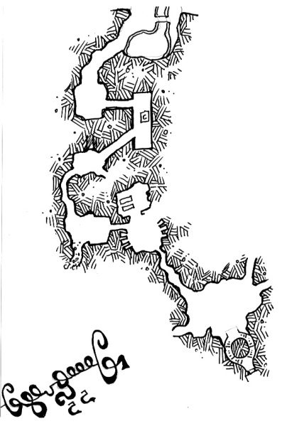 Old Thunders Map