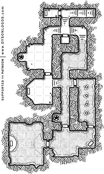 Flooded Catacombs (1200 dpi)