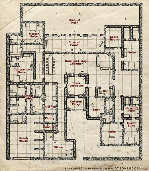 Alturiak Manor (300 dpi promo - no commercial license)