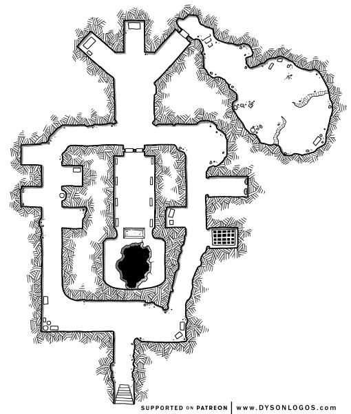 Percival's Oubliette (1200 dpi - no grid)