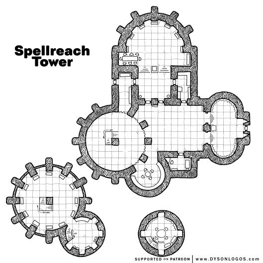 Spellreach Tower (1200 dpi)