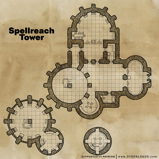 Spellreach Tower (300 dpi promotional)