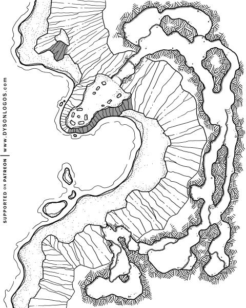 Circle on the Shore (1200 dpi - no grid)