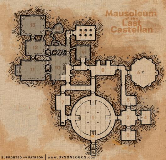 Mausoleum of the Last Castellan (300 dpi promotional)