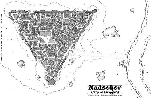 Nadoskor - City of Beggars (click for 1200 dpi zip file)