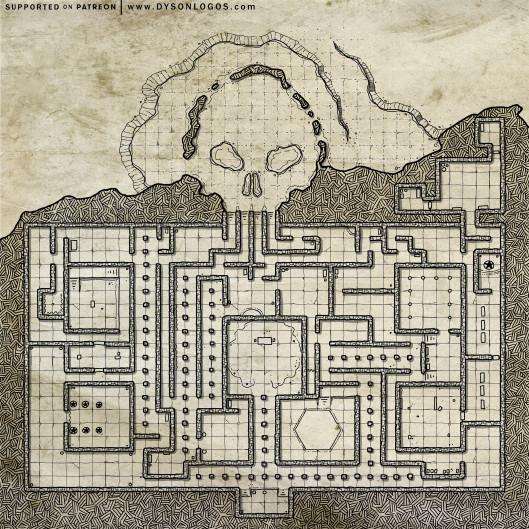 Skull Maze (300 dpi promotional - no commercial license)