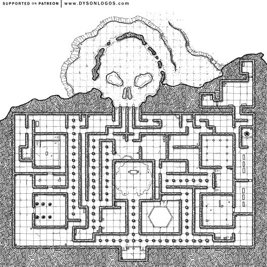 Skull Maze (1200 dpi)