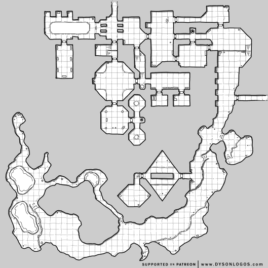 Tunnels of the Shrouded Emperor (1200 dpi)