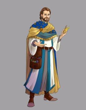 cleric-sarenrae